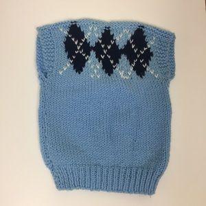 Vintage Handmade Sweater Vest